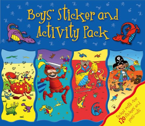 9780857800008: Boys' Activity Pack (Sticker Activity Wallet)