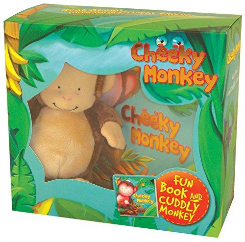 9780857800640: Cheeky Monkey (Book and Plush)