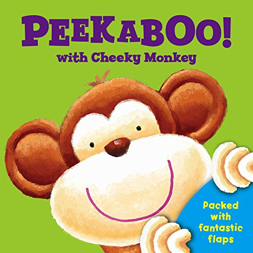 9780857802637: Peek a Boo with Cheeky Monkey (Peek a Boo Flap Books)