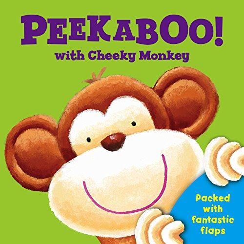 9780857802637: Peek a Boo with Cheeky Monkey (Peek a Boo Flap Books)
