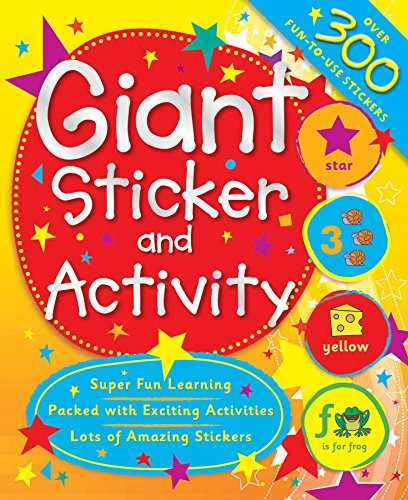 9780857803375: My Giant First Learning Sticker and Activity Book