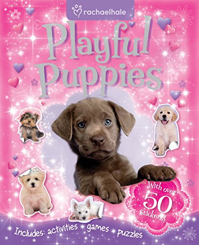 9780857804501: Rachael Hale 2: Playful Puppies (Sticker and Activity)