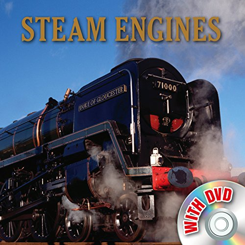 9780857804860: Steam Engines (Vehicle Book and DVD)