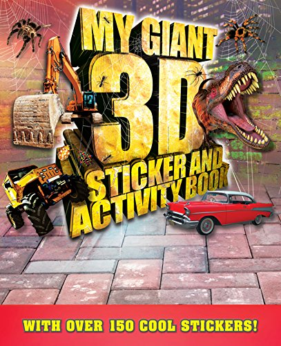 9780857806024: Giant 3D Sticker and Activity Book (Giant Sticker and Activity)