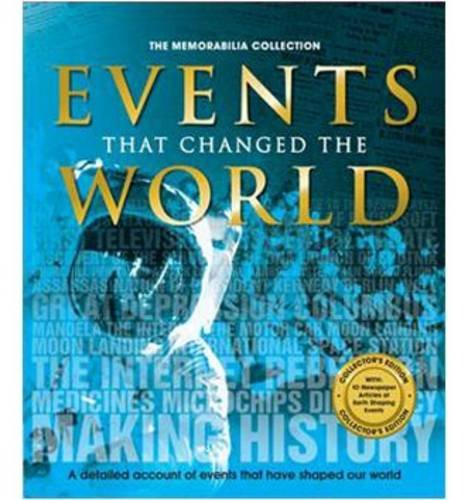 9780857806673: Events That Changed the World (Memorabilia Collection)