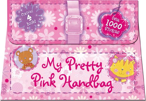 9780857807564: 1000's of Stickers - Sparkly Pink Handbag - 4 Sticker Activity Books - Holiday Fun - Gift Pack (Igloo Books Ltd)