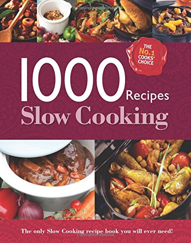 9780857807854: Slow Cooking (1000 Recipes)