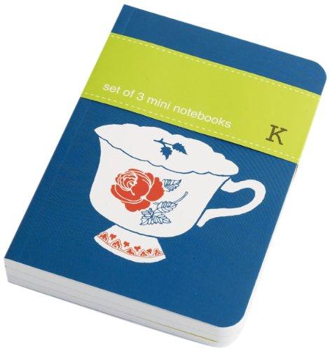 Set of 3 Mini Notebooks: Tea Time (Paperback)