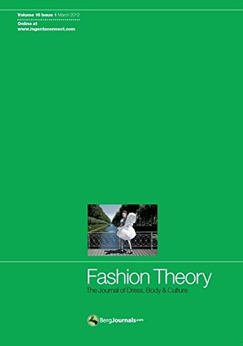 9780857852519: Fashion Theory Issue 1: The Journal of Dress, Body & Culture: 16