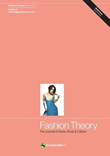 9780857852526: Fashion Theory: The Journal of Dress, Body and Culture: 16