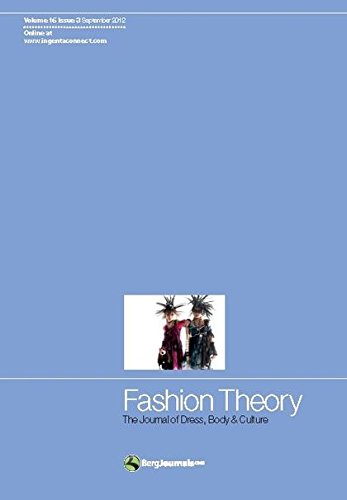 9780857852533: Fashion Theory: The Journal of Dress, Body and Culture
