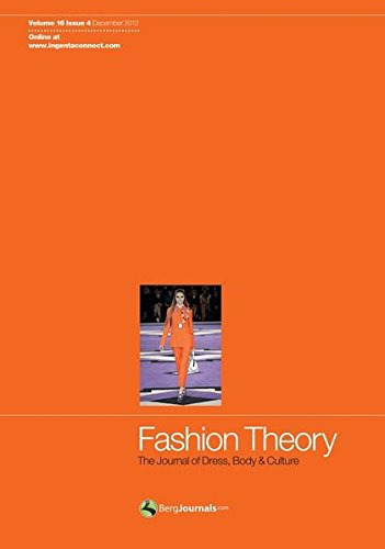 9780857852540: Fashion Theory: The Journal of Dress, Body and Culture