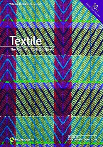 9780857852748: Textile: The Journal of Cloth & Culture