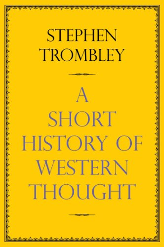 9780857896285: Very Short History of Western Thought