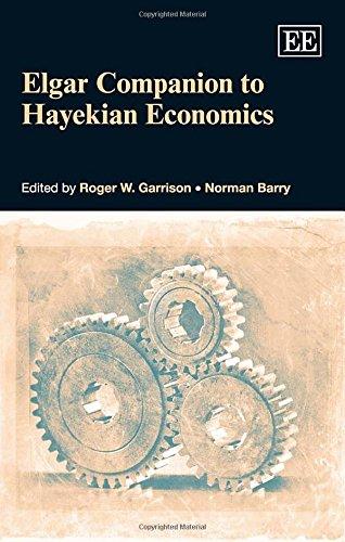 9780857931108: Elgar Companion to Hayekian Economics
