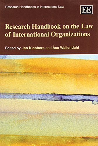 9780857931252: Research Handbook on the Law of International Organizations (Research Handbooks in International Law series)