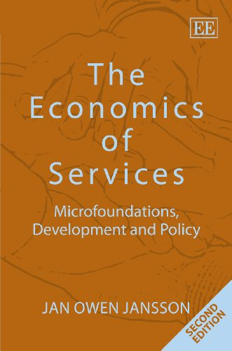 9780857932174: The Economics of Services: Microfoundations, Development and Policy