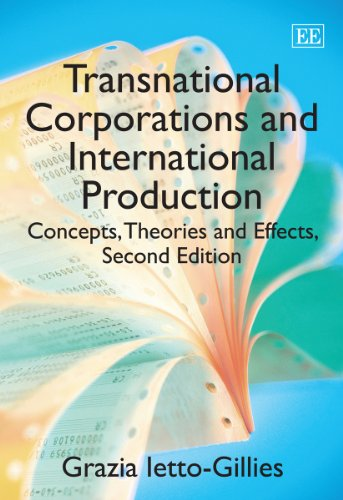 9780857932273: Transnational Corporations and International Production: Concepts, Theories and Effects