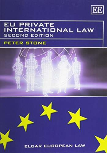 9780857932495: EU Private International Law, Second Edition (Elgar European Law series)