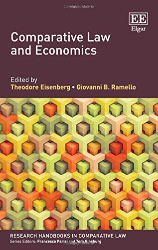 Comparative Law and Economics (Research Handbooks in Comparative Law): Giovanni Ramello; Theodore ...