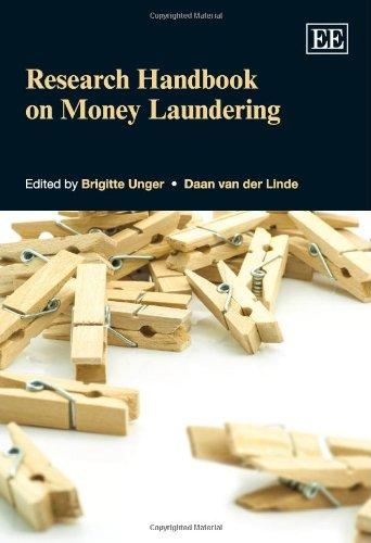 9780857933997: Research Handbook on Money Laundering (Elgar Original Reference)