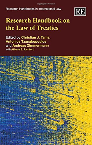 9780857934772: Research Handbook on the Law of Treaties (Research Handbooks in International Law series)