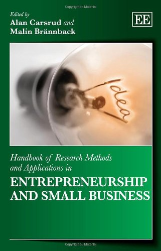 9780857935045: Handbook of Research Methods and Applications in Entrepreneurship and Small Business (Handbooks of Research Methods and Applications Series)