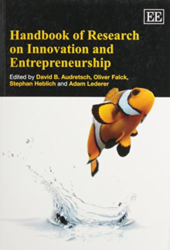 9780857935250: Handbook of Research on Innovation and Entrepreneurship (Research Handbooks in Business and Management Series)
