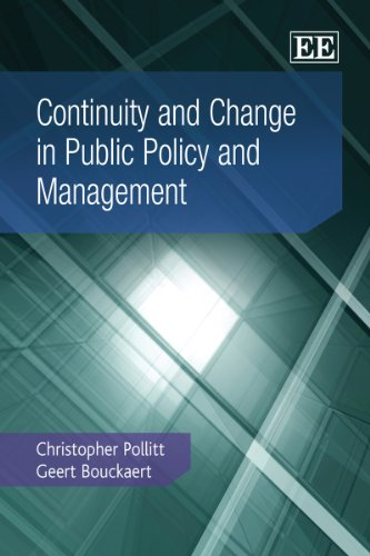 9780857935434: Continuity and Change in Public Policy and Management