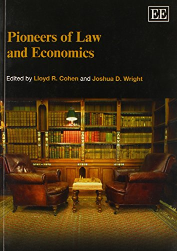 9780857935441: Pioneers of Law and Economics (Elgar Original Reference)