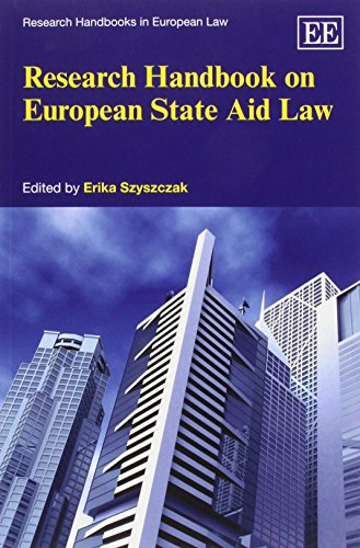 9780857935533: Research Handbook on European State Aid Law