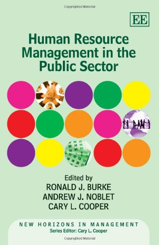 9780857937315: Human Resource Management in the Public Sector (New Horizons in Management series)