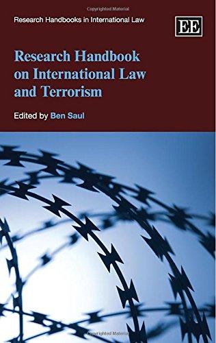 9780857938800: Research Handbook on International Law and Terrorism (Research Handbooks in International Law series) (Elgar Original reference)