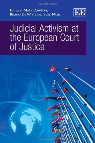 9780857939395: Judicial Activism at the European Court of Justice