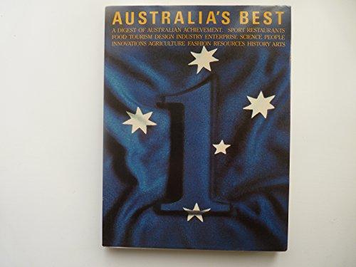 Australi'a Best A Digest of Australian Achievement: Wlison, Trevor And Cato, Ken
