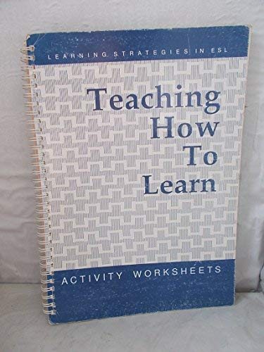 9780858379541: Teaching How to Learn: Learning Strategies in ESL - Activity Worksheets