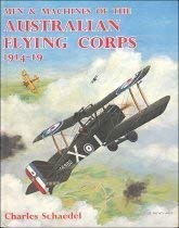 Men & Machines of the Australian Flying Corps, 1914-19: Schaedel, Charles