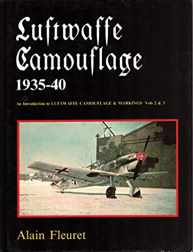 Luftwaffe Camouflage, 1935-40: Fleuret, Alain