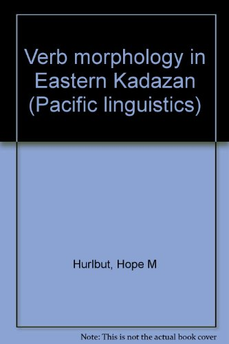 Verb Morphology in Eastern Kadazan. Pacific Linguistics,: Hurlbut, Hope M.: