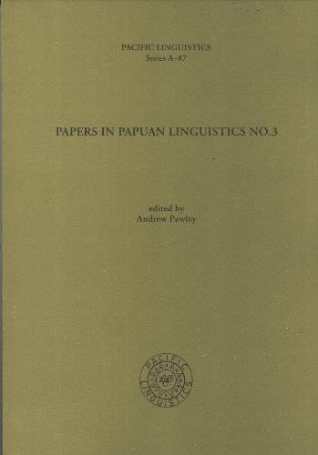 9780858834576: Papers in Papuan Linguistics, No. 3