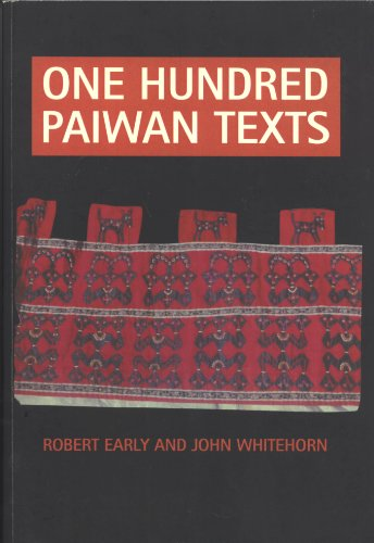 9780858834798: One Hundred Paiwan Texts