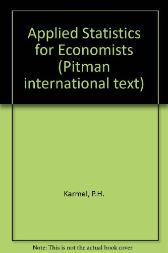 9780858965799: Applied Statistics for Economists