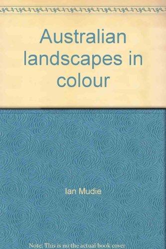 9780859020725: Australian landscapes in colour