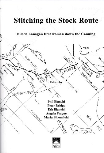 9780859054843: Stitching the Stock Route: Eileen Lanagan, First Woman Down the Canning