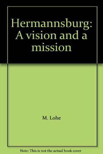 9780859100441: Hermannsburg: A vision and a mission