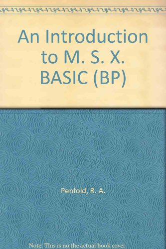 9780859341295: An Introduction to M. S. X. BASIC (BP)