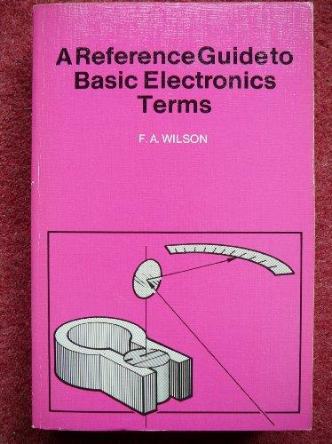 9780859342315: A Reference Guide to Basic Electronic Terms (Bernard Babani Publishing Radio & Electronics Books)