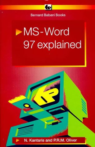 9780859344289: MS Word 97 Explained (BP)