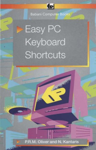 9780859345484: Easy PC Keyboard Shortcuts