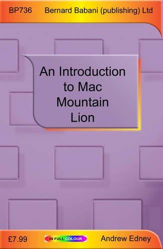 9780859347365: An Introduction to Mac OS X Mountain Lion
